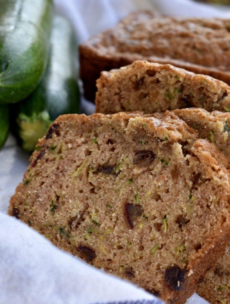 zucchini bread  living proofed
